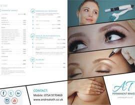 #7 para Design a Brochure for Permanent Makeup by Andrea Toth por ilditi