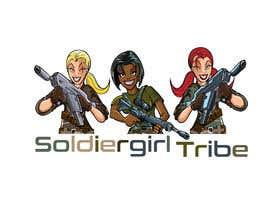 #52 for Logo for Facebook group page-Soldiergirl Tribe af nikose78