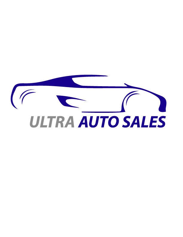 entry 33 by mdforhadhossain9 for design a logo for a used car dealership called ultra auto sales freelancer freelancer
