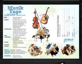 #20 for Brochure for classical music event with kids by jeezon