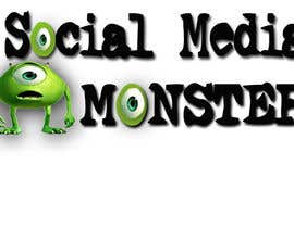 nº 43 pour Graphic Design for The Social Media Monster par kalderon