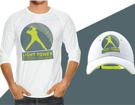 "nº 5 pour I need a logo designed for my baseball training. ""Light tower baseball training"" want a logo of a guy swinging a light pole that i can put on T shirts and hats. Perferred color scheme is neon yellow and grey. Open to characature design par azzam11"