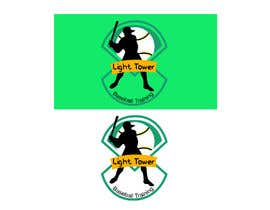 "nº 4 pour I need a logo designed for my baseball training. ""Light tower baseball training"" want a logo of a guy swinging a light pole that i can put on T shirts and hats. Perferred color scheme is neon yellow and grey. Open to characature design par parvejalom"