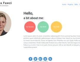 #19 for A website for personal portfolio by SaraFawzi