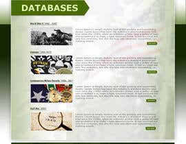 #54 para Website Design for MilitaryUSA.com por AbdOcreA