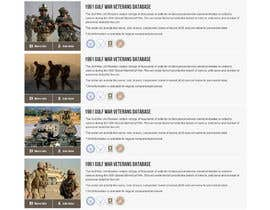 #43 para Website Design for MilitaryUSA.com por creator9