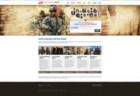 Contest Entry #40 for Website Design for MilitaryUSA.com