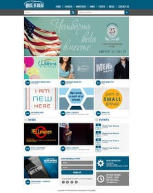 #17 for Design a Website Mockup for the Church by xpertsart