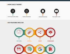 #10 for Create infographic for website homepage af aindrila1985