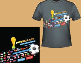 #32 for T-shirt World Cup 2018 by Creativemahade