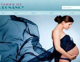 #112 for Design a Logo for my Pregnancy Site af hussa552
