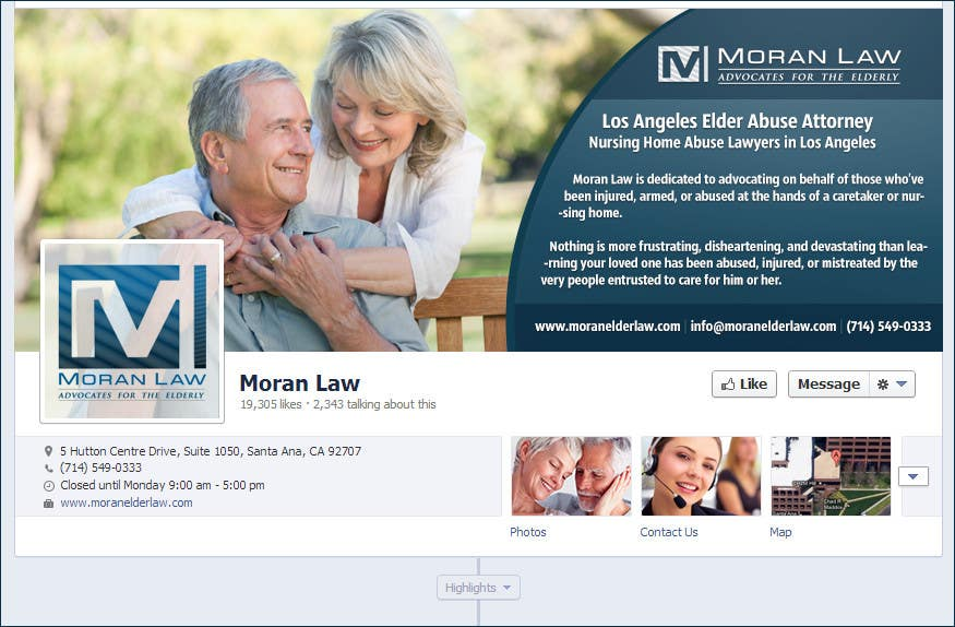 #14 for Facebook Cover Photo Design for Moran Law by softechnos5