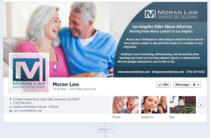 #15 for Facebook Cover Photo Design for Moran Law by softechnos5