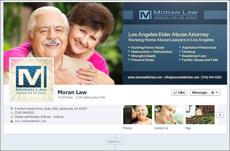 #59 for Facebook Cover Photo Design for Moran Law by softechnos5