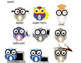 #76 for Simple Owl Logo Designs af hbakbar28