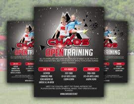 #14 for URGENT Design a Flyer Advertising Open Training for our Club -- 2 by nurallam121