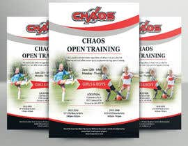 #9 for URGENT Design a Flyer Advertising Open Training for our Club -- 2 by barbaranokrek
