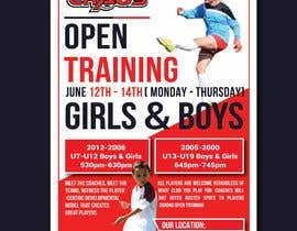 #7 for URGENT Design a Flyer Advertising Open Training for our Club -- 2 by nayangazi987