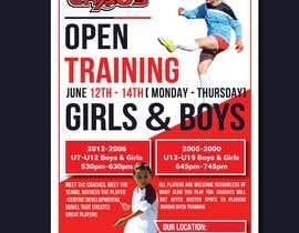 nº 7 pour URGENT Design a Flyer Advertising Open Training for our Club -- 2 par nayangazi987