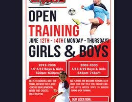 #15 for URGENT Design a Flyer Advertising Open Training for our Club -- 2 by nayangazi987