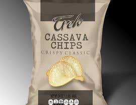 #28 for Logo dan Packaging Design for chips by debduttanundy