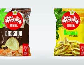 #51 for Logo dan Packaging Design for chips by cdemissy