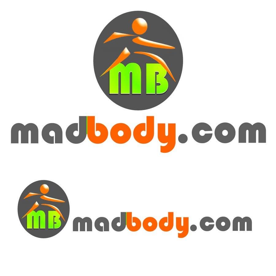 Kilpailutyö #172 kilpailussa Logo Design for madbody.com
