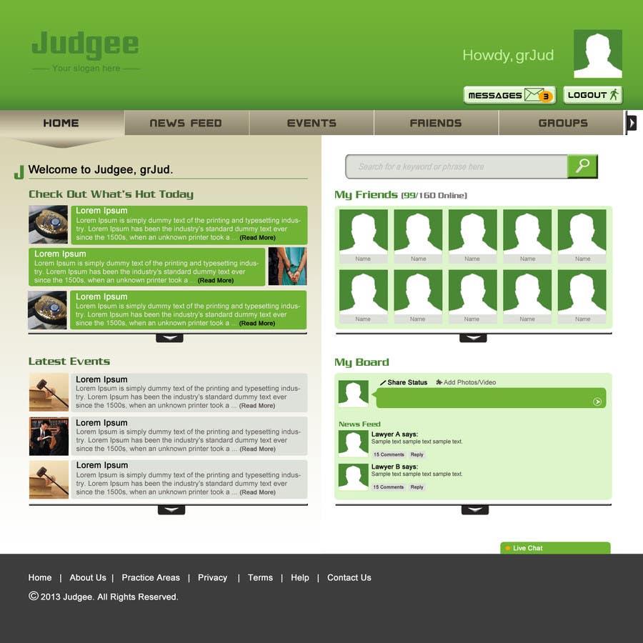 Konkurrenceindlæg #                                        46                                      for                                         Photoshop Design for Judgee