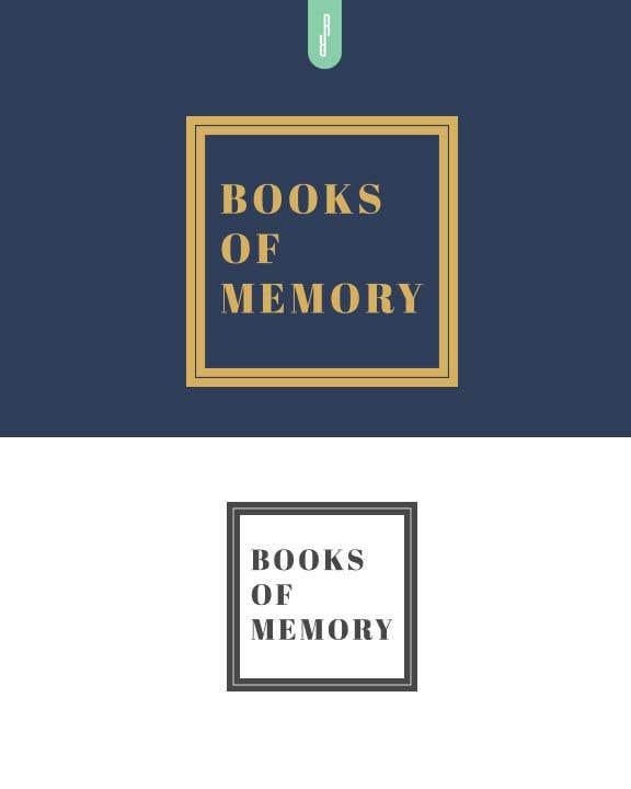 Penyertaan Peraduan #281 untuk BooksOfMemory Logo