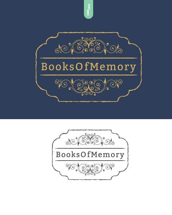 Penyertaan Peraduan #287 untuk BooksOfMemory Logo