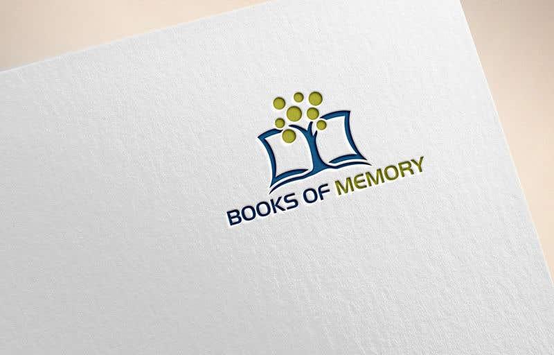 Penyertaan Peraduan #150 untuk BooksOfMemory Logo