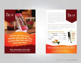 nº 4 pour Flyer Design for Bon a Manger par Leqart