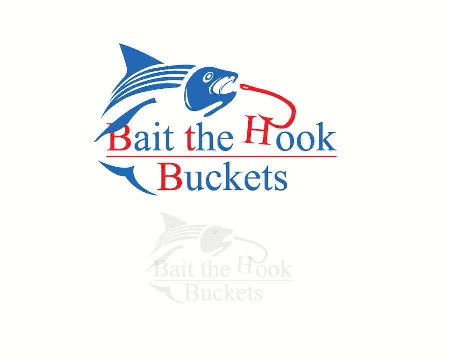 Konkurrenceindlæg #                                        51                                      for                                         Logo Design for The Lively Angler or Bait the Hook Buckets  or an original new Brand Name)