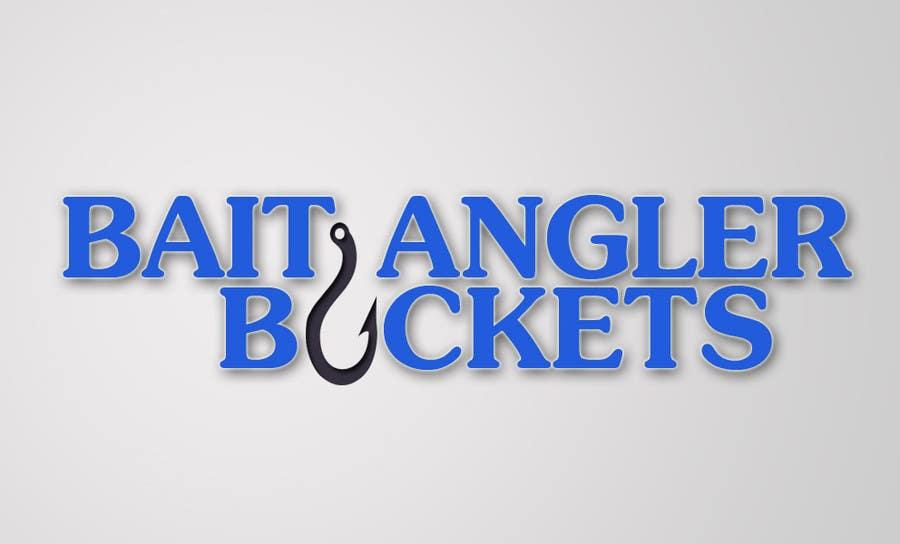 Kilpailutyö #                                        62                                      kilpailussa                                         Logo Design for The Lively Angler or Bait the Hook Buckets  or an original new Brand Name)