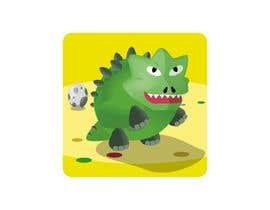 Nro 23 kilpailuun Design App Icon for Mobile Game (like Slither.io) käyttäjältä rayhananimator