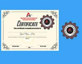 #2 для Design 1 company seal and 2 certificates  - One for Practising Member and One for Fellow від rodela892013