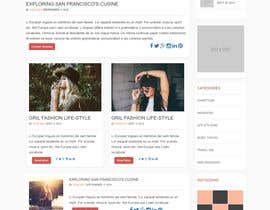 #10 for Create a WordPress Template Or Website Design by ganupam021