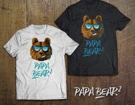 #59 for Pretty Basic Papa Bear T-shirt af avtoringUK