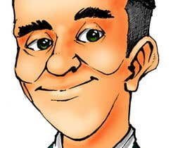 #46 for Caricature/Cartoon needed for website author/blog by ecomoglio