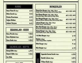 kausar01715 tarafından Modify already designed menu with new prices and alter some changes için no 31