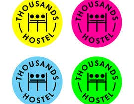 #102 for Thousands Hostel [Logo Contest] by bangpoltak