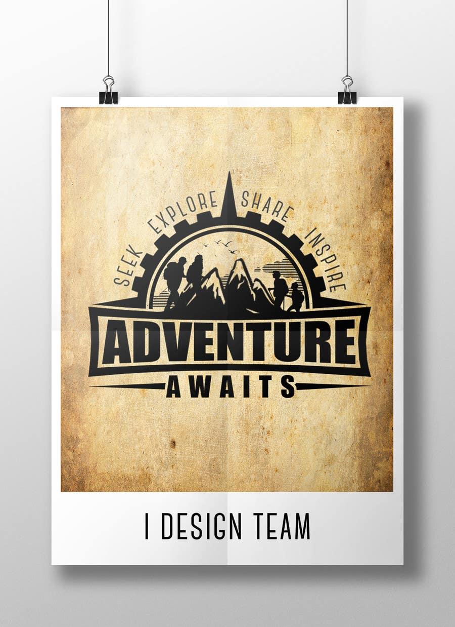 "Kilpailutyö #                                        99                                      kilpailussa                                         Design a Logo for a Family Adventure Company ""Adventure Awaits"""
