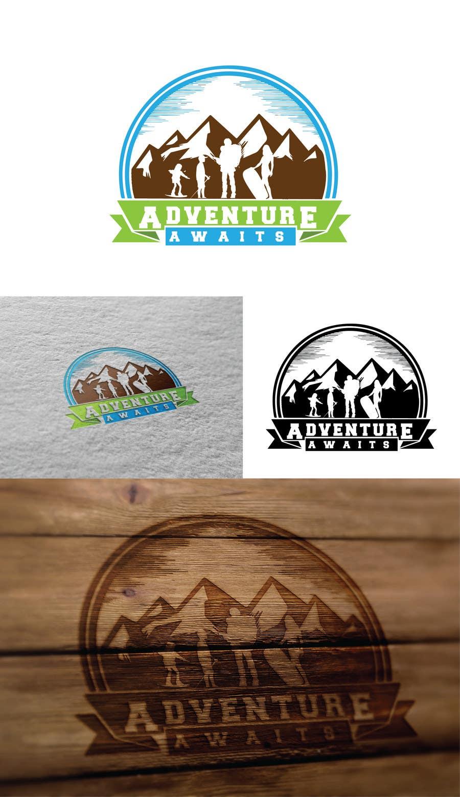 "Kilpailutyö #                                        98                                      kilpailussa                                         Design a Logo for a Family Adventure Company ""Adventure Awaits"""
