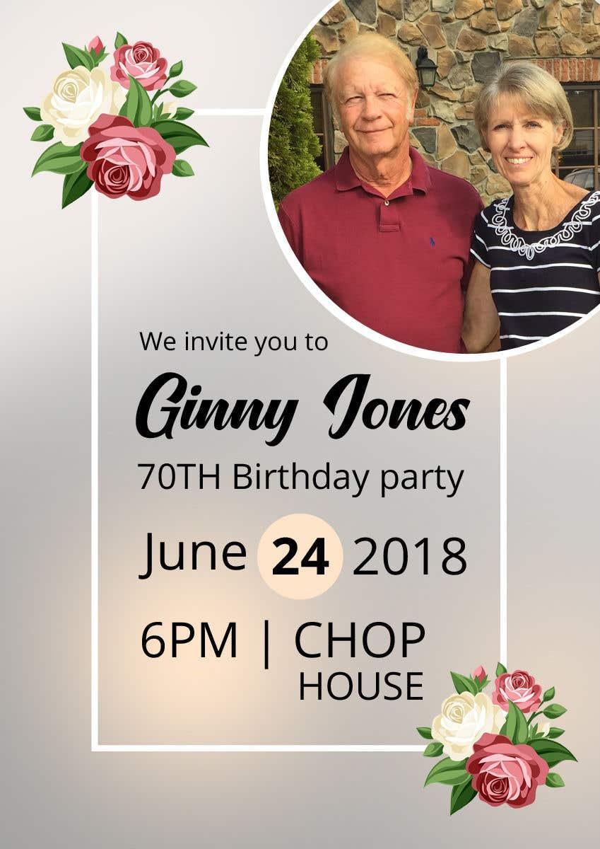 Design A 70th Birthday Card