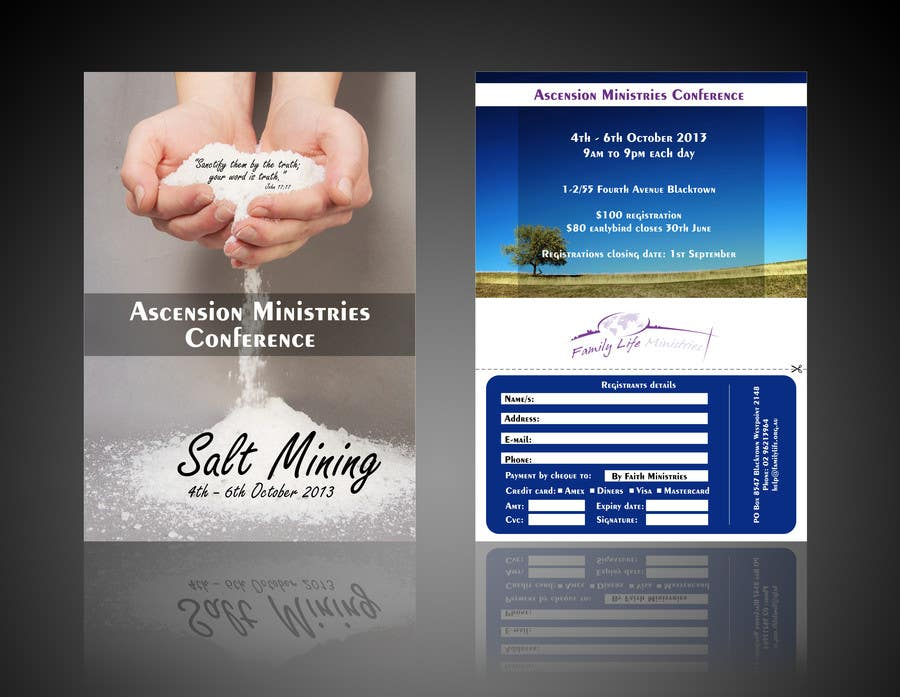 Inscrição nº                                         24                                      do Concurso para                                         Flyer Design for Family Life Ministries
