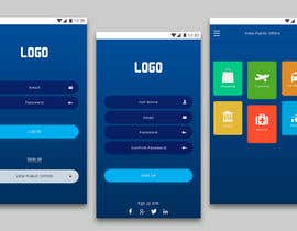 #6 для Design an App Mockup от templatefreaks