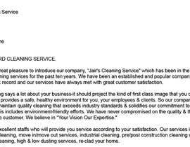 #6 for Commercial Cleaning Introduction Letter by asmitjoy17
