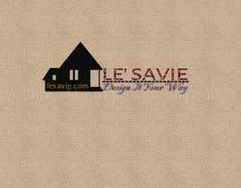 "Jkandpall tarafından Design a Logo for ""Le' Savie"" an upscale home goods store için no 383"