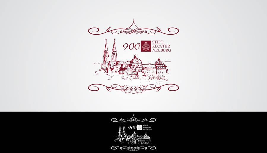 """Inscrição nº                                         29                                      do Concurso para                                         Logo Design for """"900 Jahre Stift Klosterneuburg"""""""