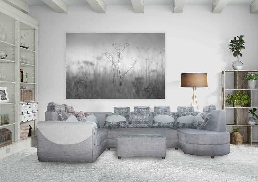 Inscrição nº 6 do Concurso para 11. Placement of Sofa in a Setting - Photoshop